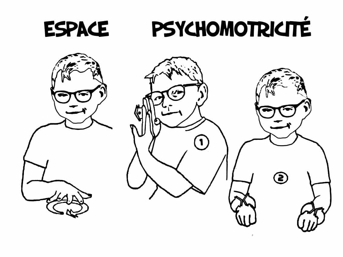 Le monde d'Ayden - Espace psychomotricité